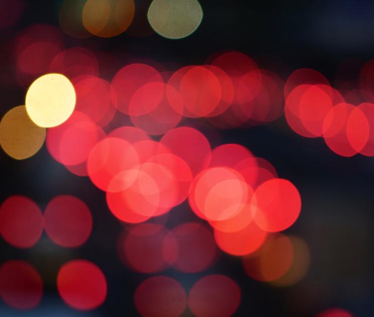 Rückantwort Von Rücklichtern Im Rückstau © Rolleiflextlr/fotolia